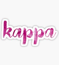Kappa sticker: mix and match sorority series Sticker