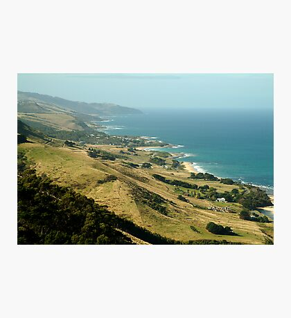 Mariner's Lookout Great Ocen Rd Photographic Print