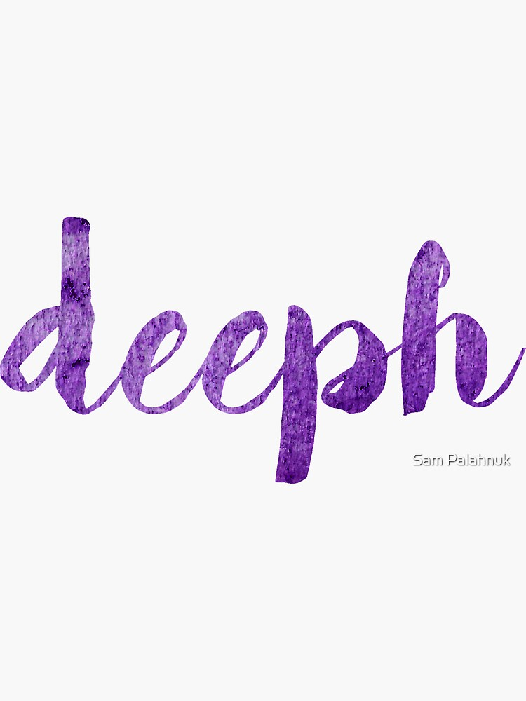 deeph sticker  by sampalahnukart
