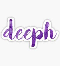 deeph sticker  Sticker