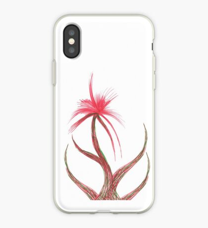 Ruby Flower iPhone Case