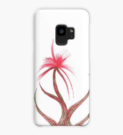 Ruby Flower Case/Skin for Samsung Galaxy