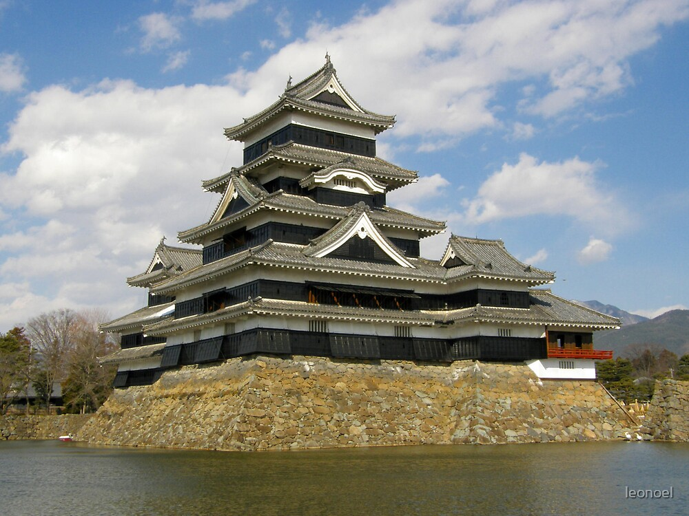 matsumoto castle by leonoel