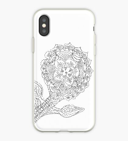 Dotted Flower iPhone Case