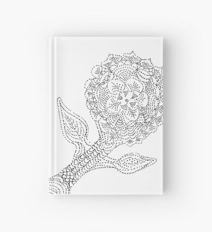 Dotted Flower Hardcover Journal