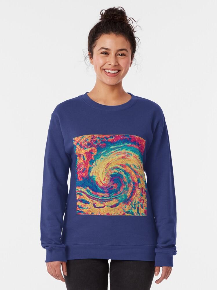 Alternate view of King wave Pullover Sweatshirt