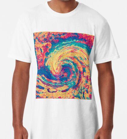 King wave Long T-Shirt