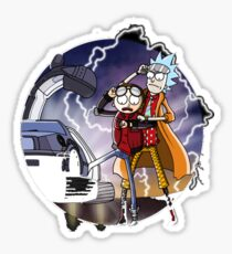 Back to the future - Parody Sticker