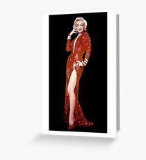 MARILYN MONROE : Vintage Movie Advertising Print Greeting Card