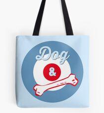 Dog & Bone Cockney Rhyming Slang Slogan Gifts for Dog Lovers Tote Bag