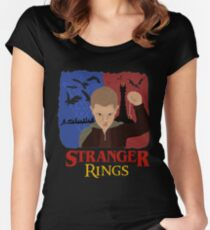 Stranger Rings Women's Fitted Scoop T-Shirt