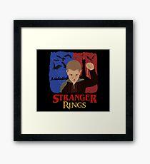 Stranger Rings Framed Print