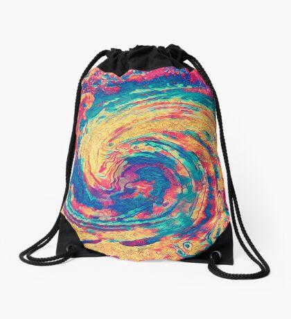 King wave Drawstring Bag