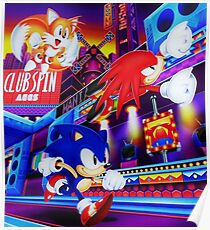 Sonic Mania Poster