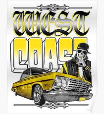 West Coast Rider Poster