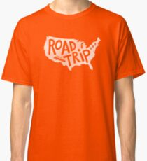 Road Trip USA - blue Classic T-Shirt