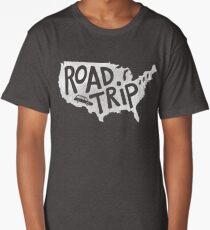 Road Trip USA - blue Long T-Shirt