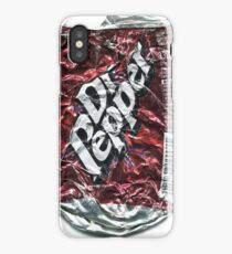 Crushed Dr Pepper Tin iPhone Case