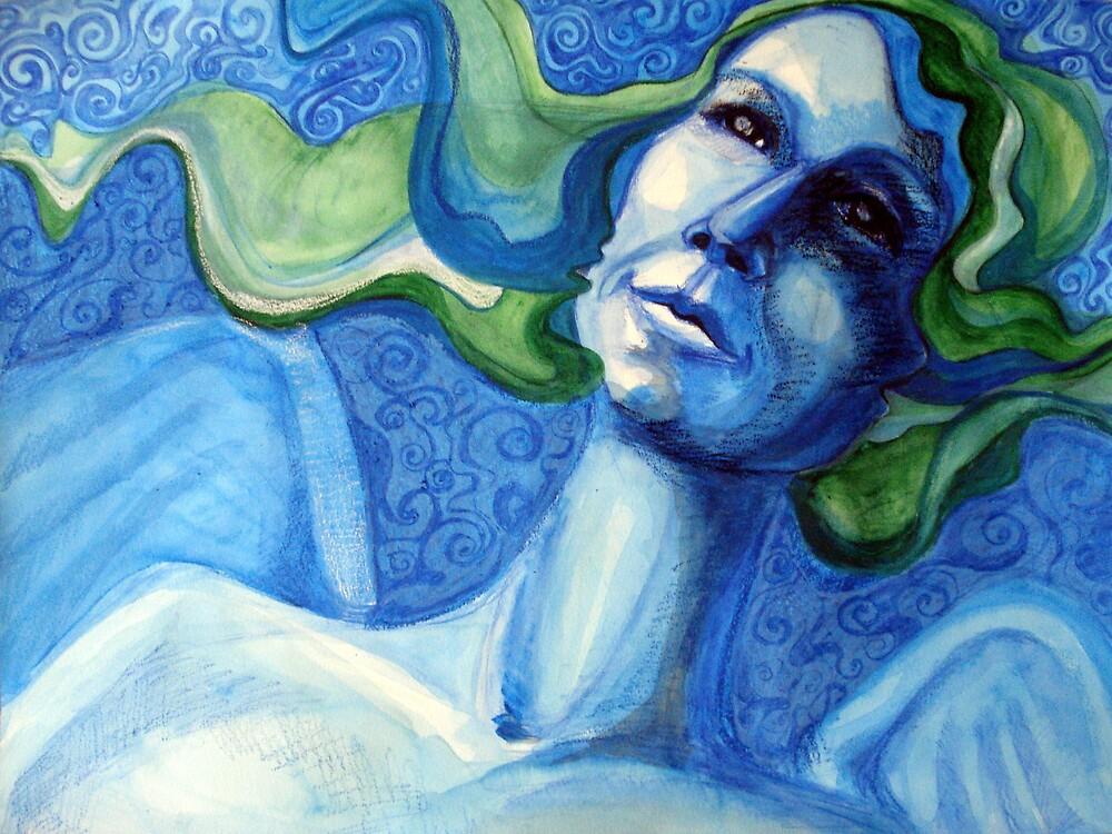 sometimes I feel BLUE by Elena C.