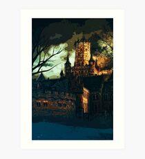 Home of Darkness Art Print