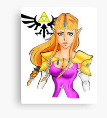 Princess Zelda Metal Print