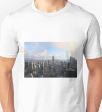 landscape of new york city at the sunset T-Shirt