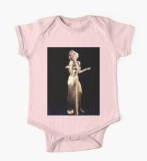 MARILYN MONROE : In a Gold Lamey Dress Print  Kids Clothes