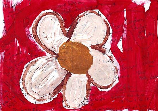 Note Flower by John Douglas