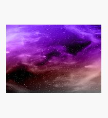 Galaxy Space  Photographic Print