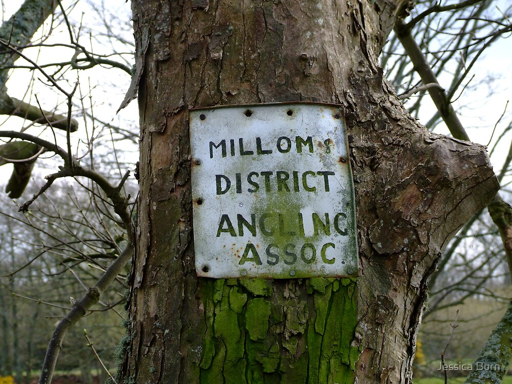 Millom District Old Unused Sign by Jessica Burn