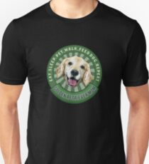 Golden Retriever Mom Eat Sleep Dog Repeat T-Shirt