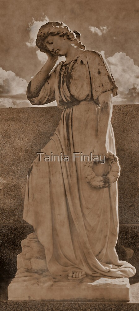 Where Angels Weep ll by Tainia Finlay