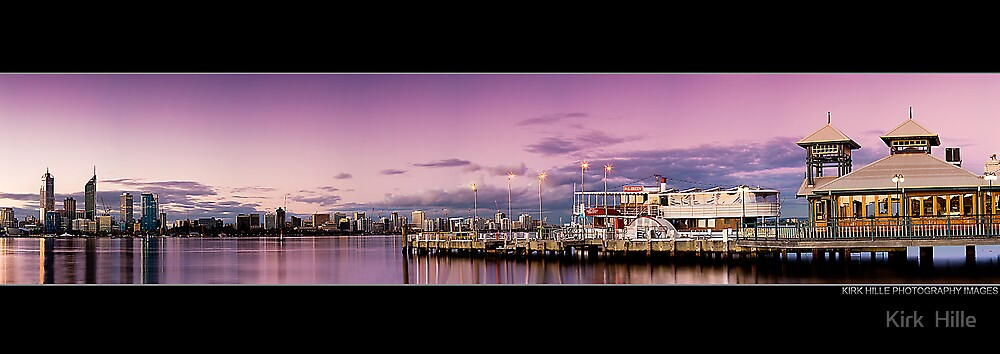 South Perth Jetty by Kirk  Hille