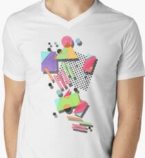 Retro 80s Geometric T-Shirt