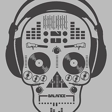 Musical skull by yol84