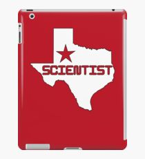 Texas Scientist iPad Case/Skin