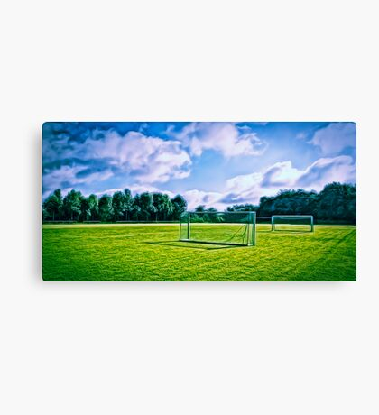 The game Canvas Print