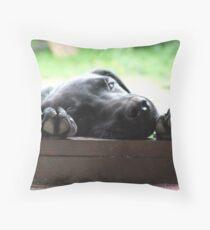 Puppy Paws Throw Pillow