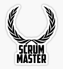 SCRUM Master or Emperor Sticker