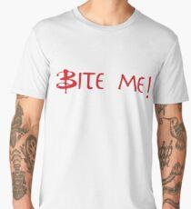 Bite Me! Red Men's Premium T-Shirt