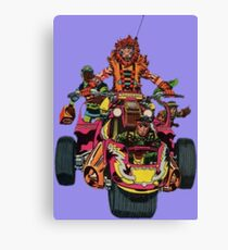 Just Out For A Ride Canvas Print