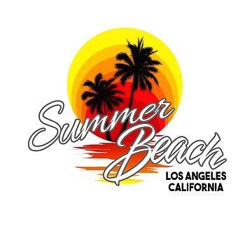 Summer Beach CA by dejava