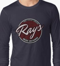 Blues Brothers - Rays Music Exchange Long Sleeve T-Shirt