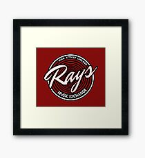 Blues Brothers - Rays Music Exchange Framed Print