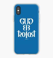 Gud er trofast iPhone Case