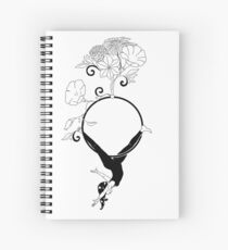 Aerial Hoop Design Spiral Notebook