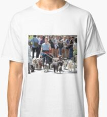 Daniel Radcliffe Walking Dogs Classic T-Shirt