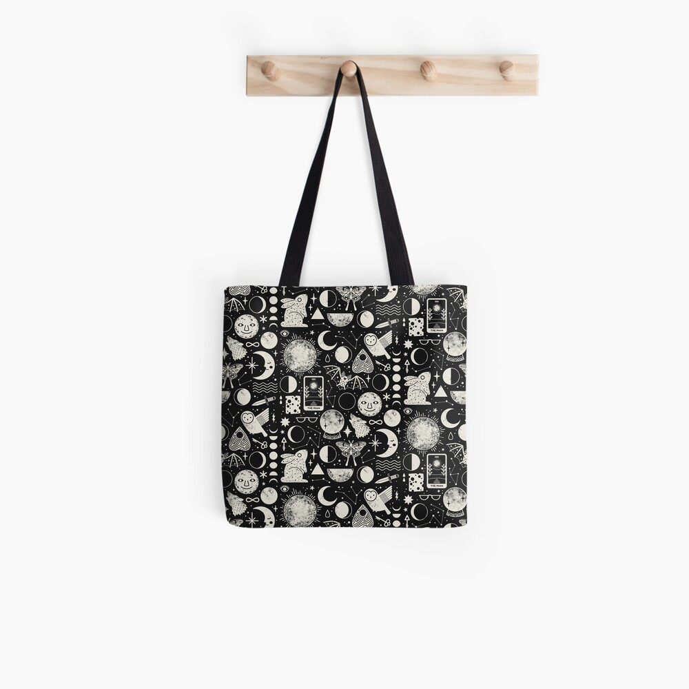Lunar Pattern: Eclipse Tote Bag