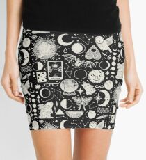 Lunar Pattern: Eclipse Mini Skirt