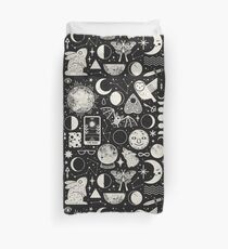 Lunar Pattern: Eclipse Duvet Cover